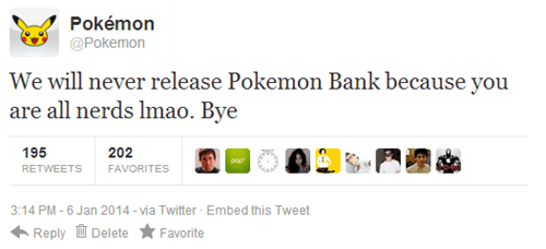 Pokémon,twitter,pokemon bank