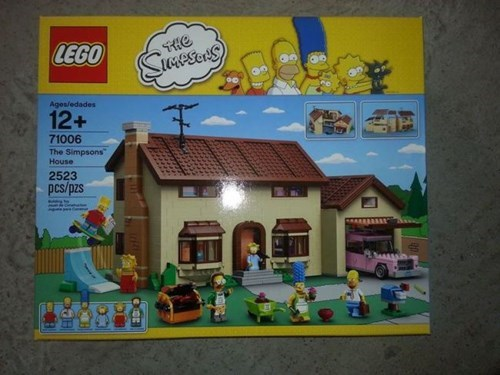 Image of First Simpsons LEGO Set has Emerged