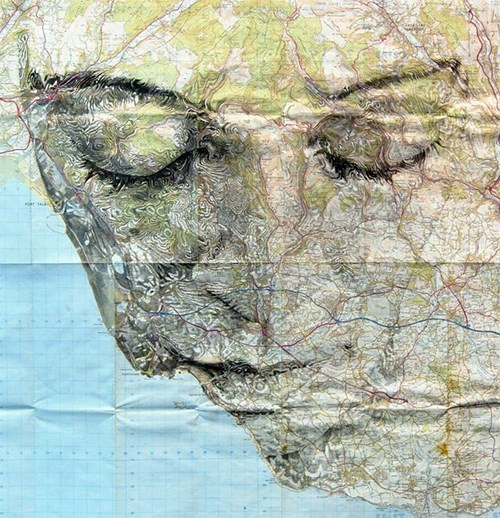 More Map Art from Ed Fairburn