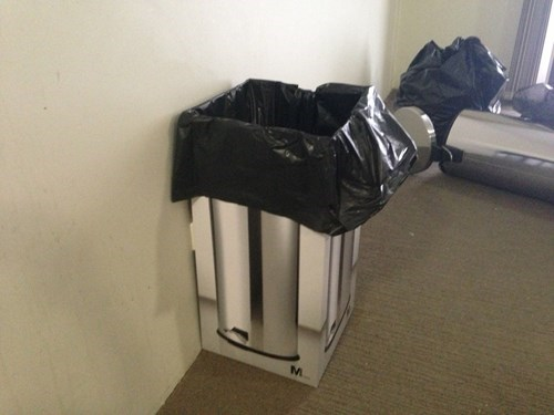 It's Technically a Wastebasket?