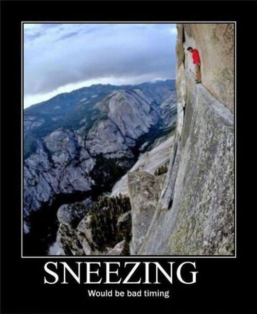 scary,falling,cliff,sneeze,funny