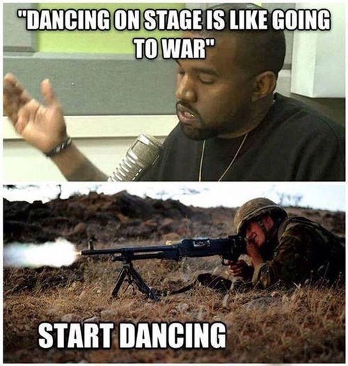 Kanye Needs to Shut Up and Start Dancing