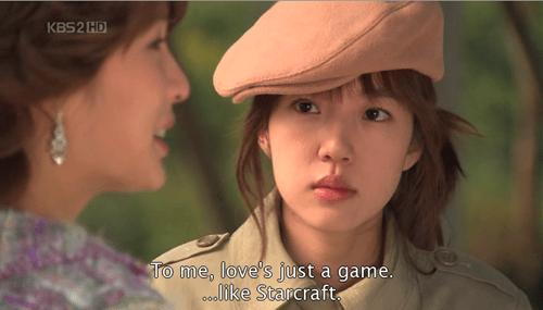 starcraft,game,korean soap opera,dating