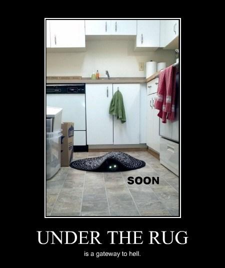 hell,rug,Portal,Cats,funny