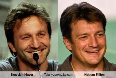 totally looks like,nathan fillion,breeckin meyer