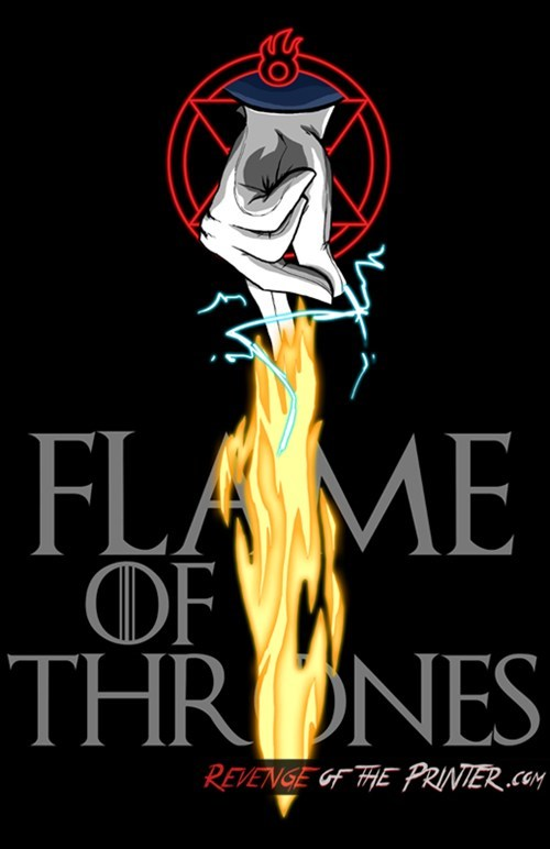 Flame of Thrones