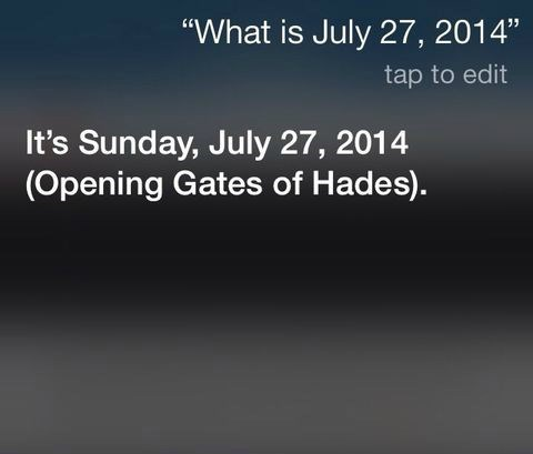 If You Have an iPhone, Go and Ask Siri This