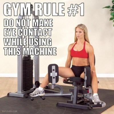 Picking Up Girls at the Gym Rule #1