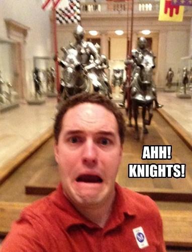 AHH! KNIGHTS!