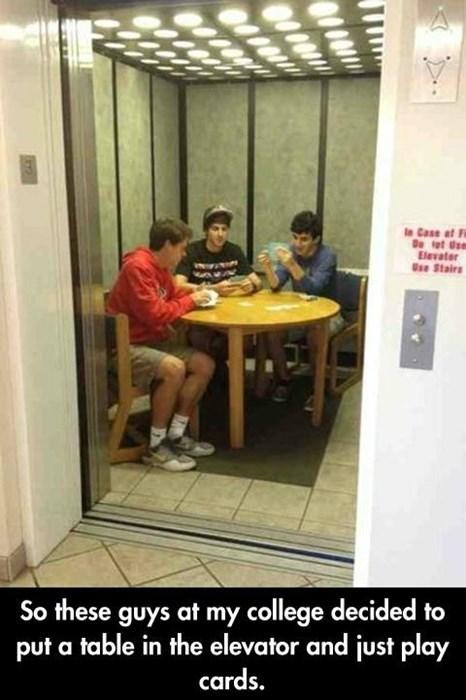 bros,elevators,cards