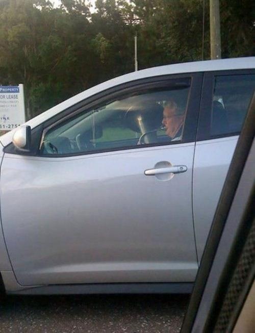 bad idea,cars,tuba,driving,dangerous