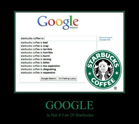 Google And Starbucks Don't Mix