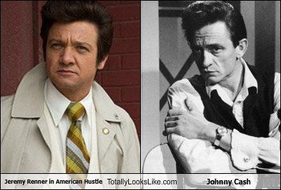 totally looks like,Jeremy renner,johnny cash