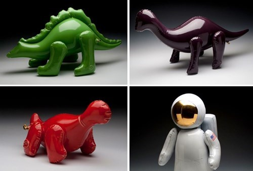 Brett Kern's Amazing Ceramics Look Like Inflatable Toys