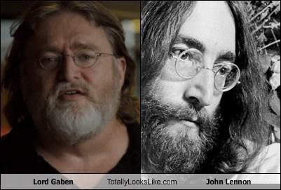 Lord Gaben Totally Looks Like John Lennon