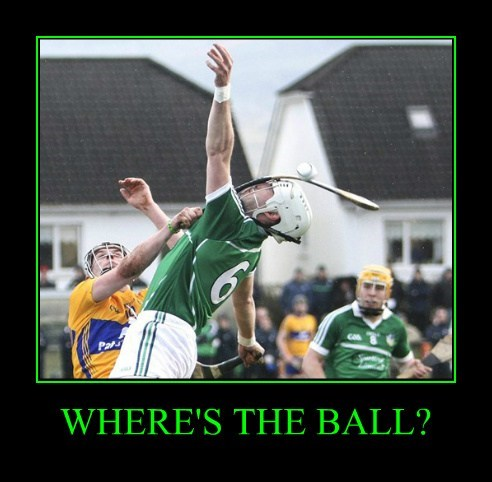 WHERE'S THE BALL?