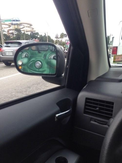 photobomb,side mirror