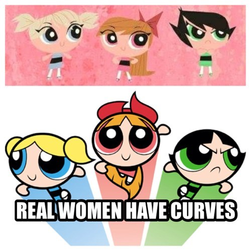 Old Powerpuff Girls FTW