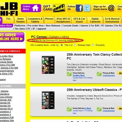 reviews,list,JB Hi-Fi,video games