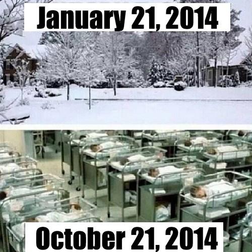 Babies,snow day,kids,snow,parenting