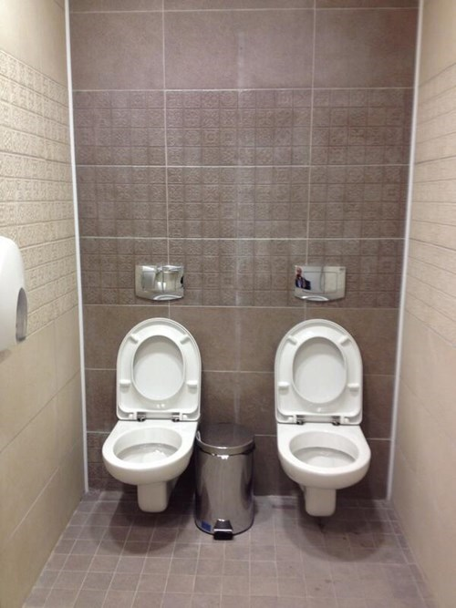 Some of the Bathrooms at the Sochi Olympics Are a Little too Comfy