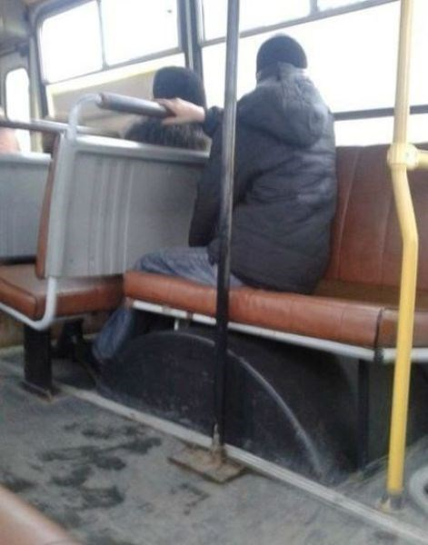 Nobody Told This Guy How Buses Work