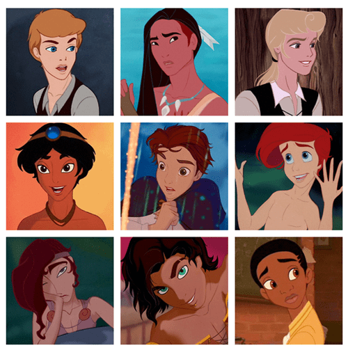 What Would Your Favorite Disney Princess Look Like as a Prince?