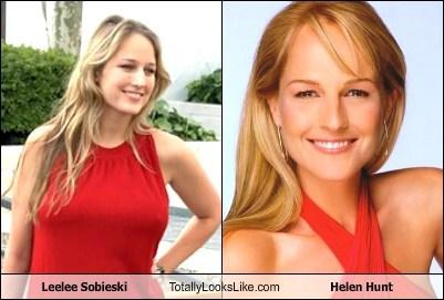 Leelee Sobieski Totally Looks Like Helen Hunt