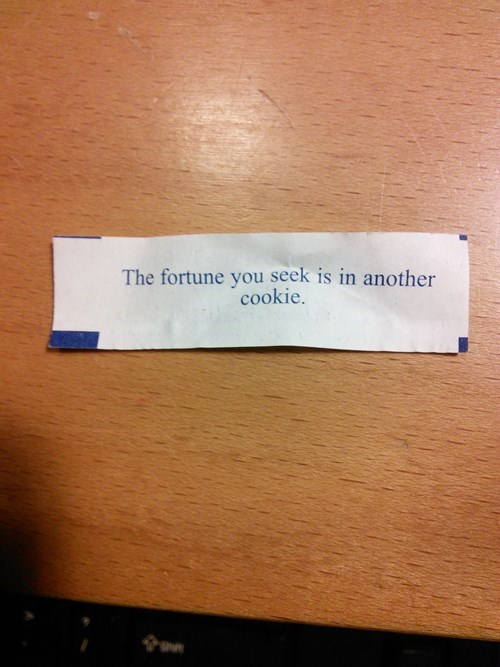 Mario's Fortune Cookie