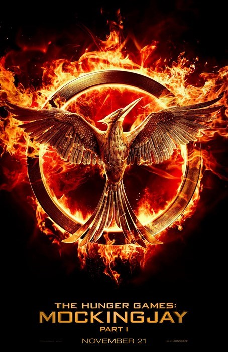 The First Poster for Mockingjay (Part 1) is Here!
