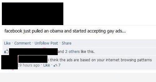 dumb people,obama,gay ads
