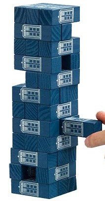 tardis,for sale,doctor who,jenga