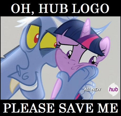 Please save me, Hub Logo