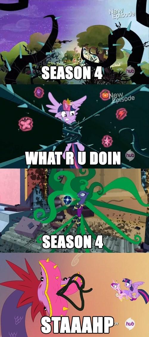 stahp,tentacles,mlp season 4