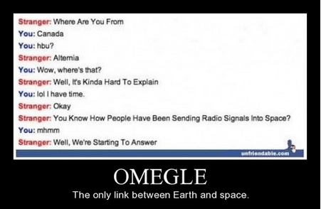 Aliens,funny,space,Omegle