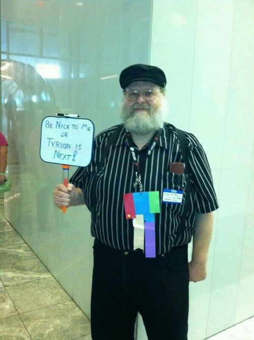 GRRM Cosplays Are Either Scarily Accurate or Just Plain Scary