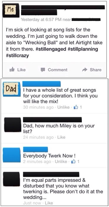 dads,Music,miley cyrus,wrecking ball