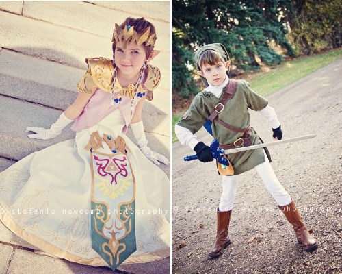 link,cosplay,kids,zelda