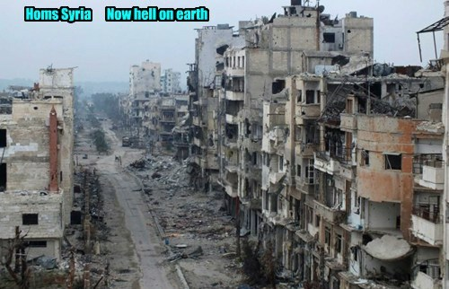 Homs hell...