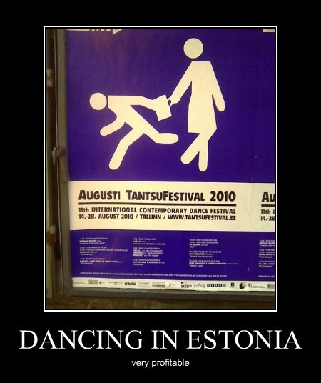 DANCING IN ESTONIA
