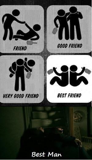 best man,best friend,passed out,Sherlock