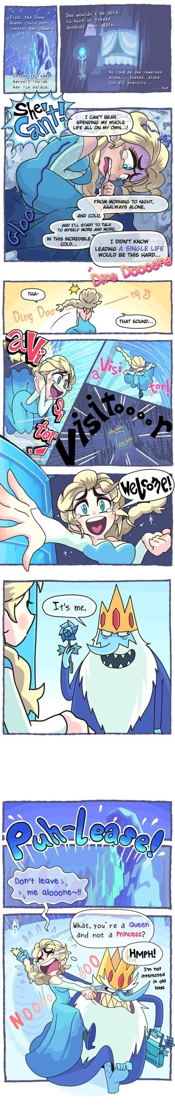 Do You Want to Wed an Ice King?