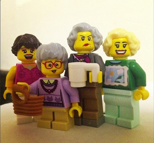 Golden Girl Legos: Thank You For Being A Friend
