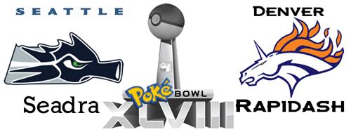 Denver Broncos,nfl,Pokémon,seattle seahawks,rapidash,super bowl,seadra