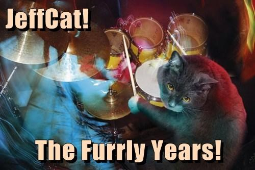 JeffCat!  The Furrly Years!