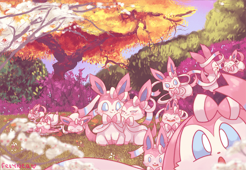 Sylveon Garden - Cuteness from Here to the Horizon