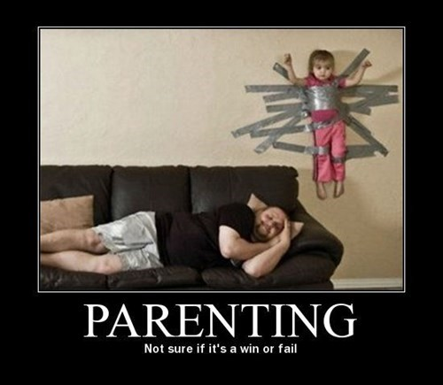 parenting,ingenuity,duct tape,funny