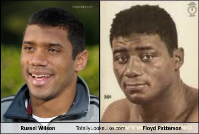 Russel Wilson Totally Looks Like Floyd Patterson
