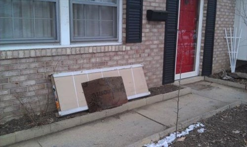 This Delivery Guy Takes Pride in Always Leaving the Package Under the Mat