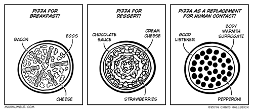 Pizza is The Most Versatile Object in The Known Universe